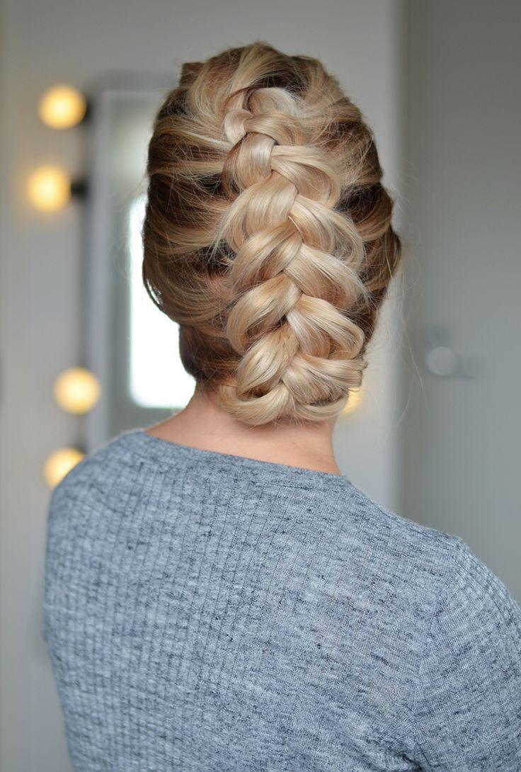 hollandaise braid hairdo