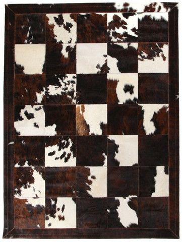 Patchwork Cowhide Rug - Complete Pad ®