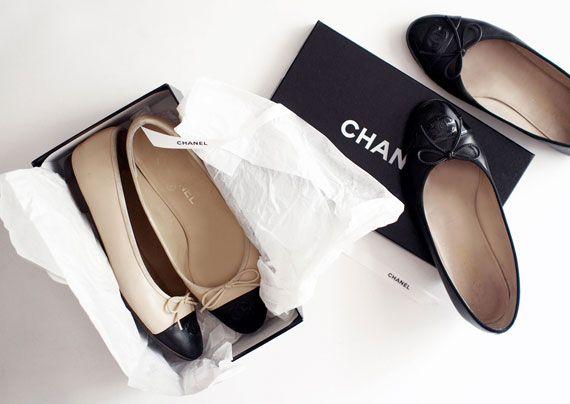 Chanel Ballet Flats September 2017