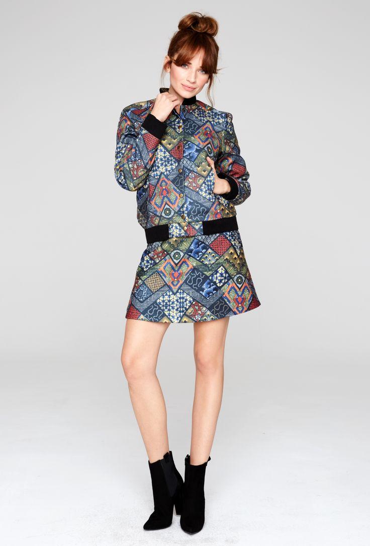 #skirt #jacket #boho