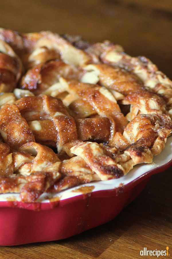 "Apple Pie by Grandma Ople | ""Wonderful! My dinner guests said it was not only the best apple pie they had ever had, but also the best pie, period. "" -KMENN"