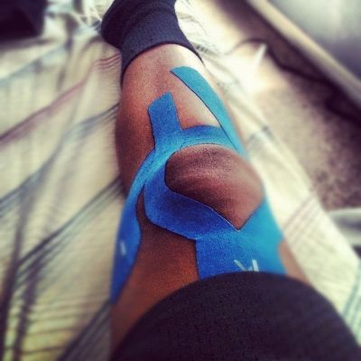 KT Tape Knee support | Flickr