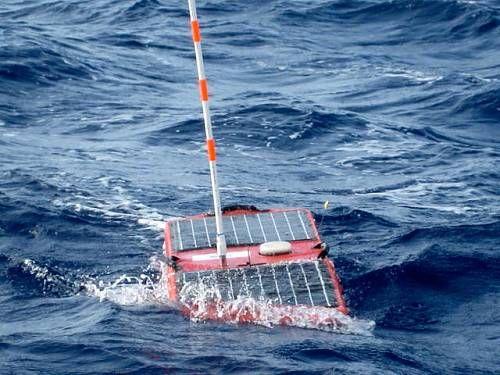 "Brave Little Solar-Powered Robot ""Alex"" Tracks Hurricane Isaac."