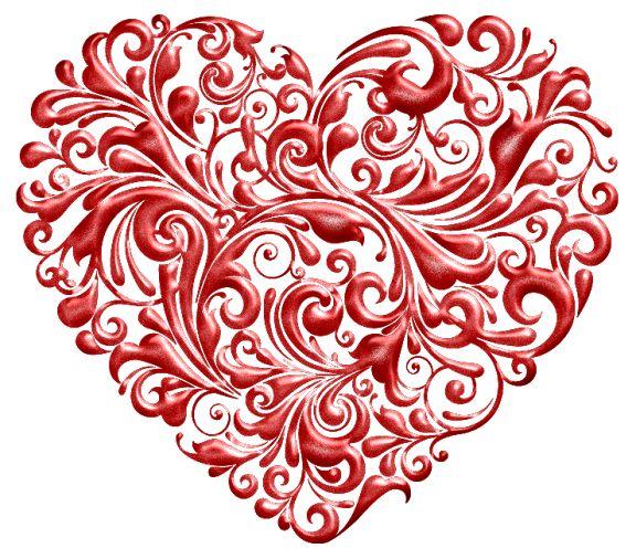 Red Valentine (740x650 px) printable