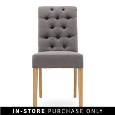 palace dining chair grey