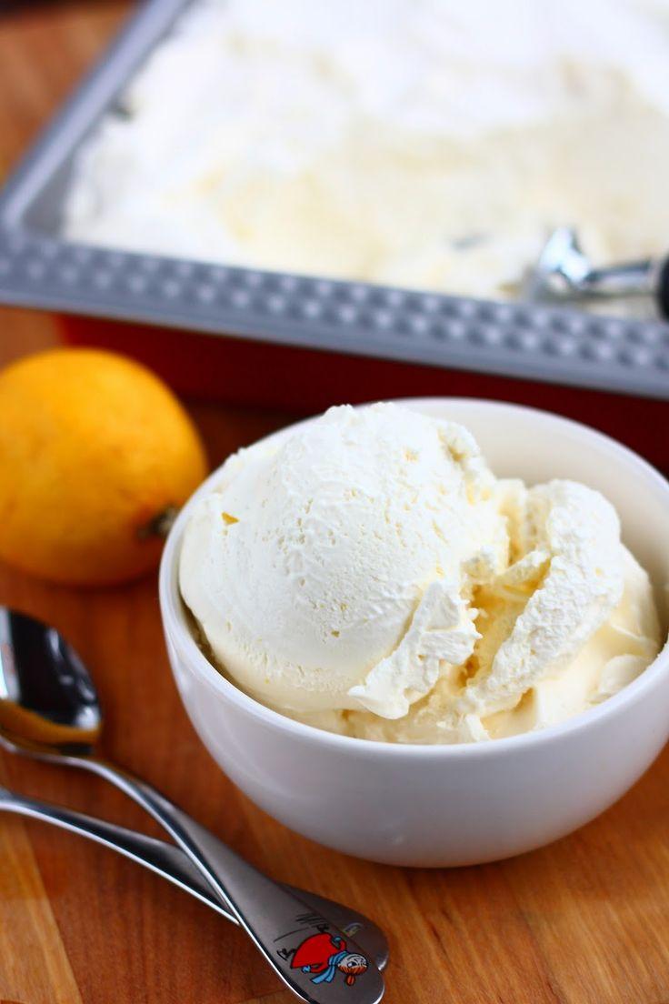 Suklaapossu: Helppo ja täyteläinen sitruunajäätelö ilman jäätelökonetta