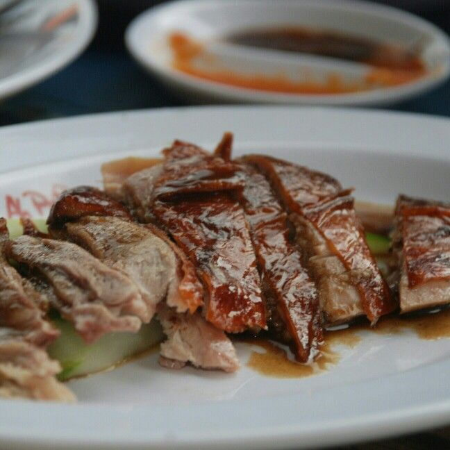 Roasted duck rice #Ahhpoong #sentulcity