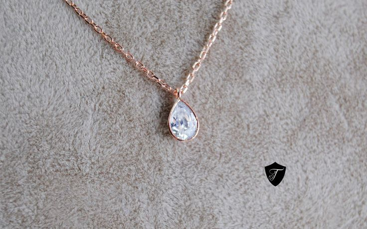 Grab 'em before they sell out! Drop Pendant - Charm Necklace - Everyday Jewellery - 925 Silver Handmade - White Drop Swarovski - Rose Gold Plating - Free Shipping on my Etsy shop✨   https://www.etsy.com/listing/508724603/drop-pendant-charm-necklace-everyday?utm_campaign=crowdfire&utm_content=crowdfire&utm_medium=social&utm_source=pinterest
