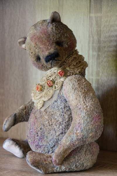 Magic Flower number 3 By Natasha Murasha - Bear Pile