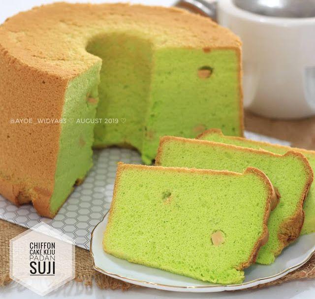 Chiffon Cake Keju Pandan Suji By Ayoe Widya83 Resep Aneka Kue Enak Cake Chiffon Cake Desserts