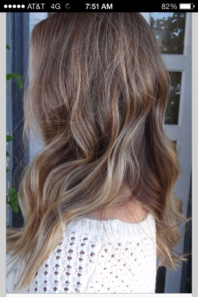 soft ombre hair dark blonde