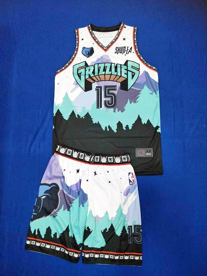 Best Seller Grizzlies Basketball Jersey Design In 2020 Nba Jersey Outfit Nba Outfit Basketball Uniforms Design