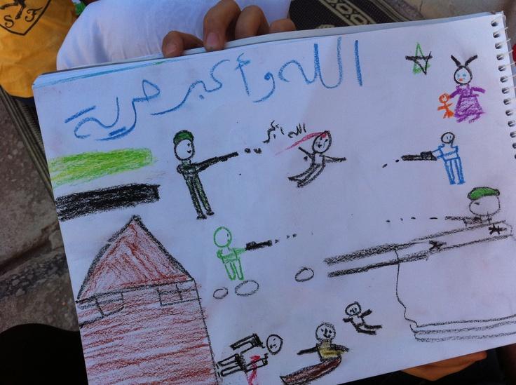 Se vi piacciono questi piccoli capovalavori, condivideteli sulla vostra bacheca! Li hanno realizzati i bambini della Siria all'interno di un centro ricreativo gestito dall'UNICEF. Qui i bambini vengono aiutati a superare i traumi della guerra. Per saperne di più sull'attività dell'UNICEF in Siria www.unicef.it/siria