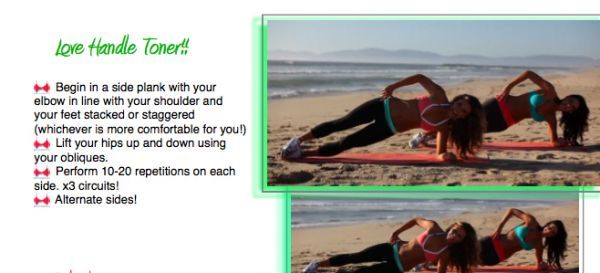 how to work your love handles