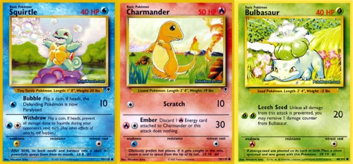Pokemon cards.  And yes I was too old for this when they first came out.  And yes, I brought several packs before.