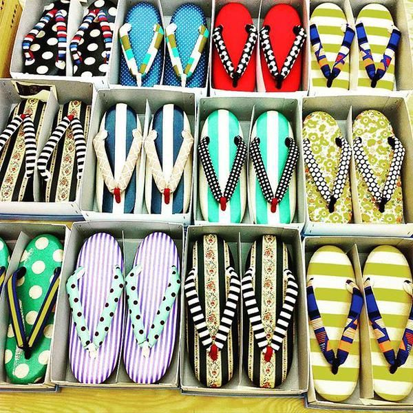 "Japanese traditional sandals ""草履"", Zori."