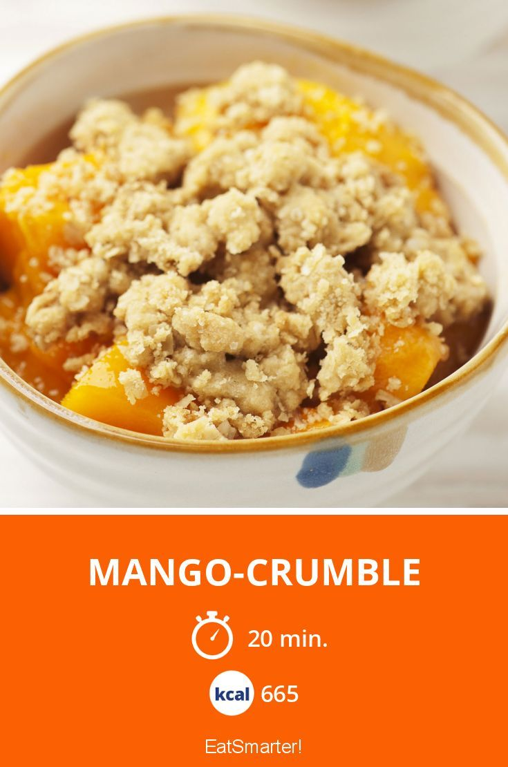 Mango-Crumble