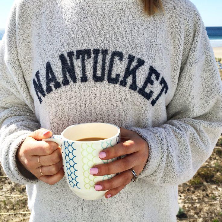 Nantucket terry crewneck sweatshirt http://www.gonecoastalblog.com