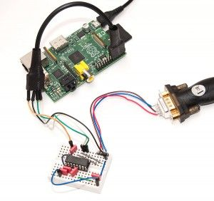 Raspberry Pi Serial Console With MAX3232CPE