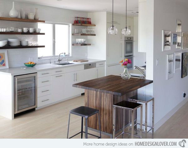 15 Examples of Function and Minimalism in Scandinavian Kitchens | Home Design Lover