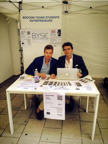 Byse si presenta @ Associazioni In Mostra presso l'Università Bocconi il 17 Settembre 2014