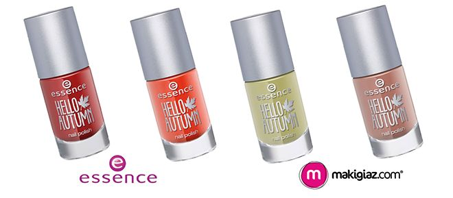 """Do you want the gold shades of Autumn on your makeup? Then you have to try the new Limited edition makeup series """"Hello Autumn"""" by Essence.  English Article http://makigiaz.com/blog/essence-hello-autumn-en  Greek Article http://makigiaz.com/blog/essence-hello-autumn"""