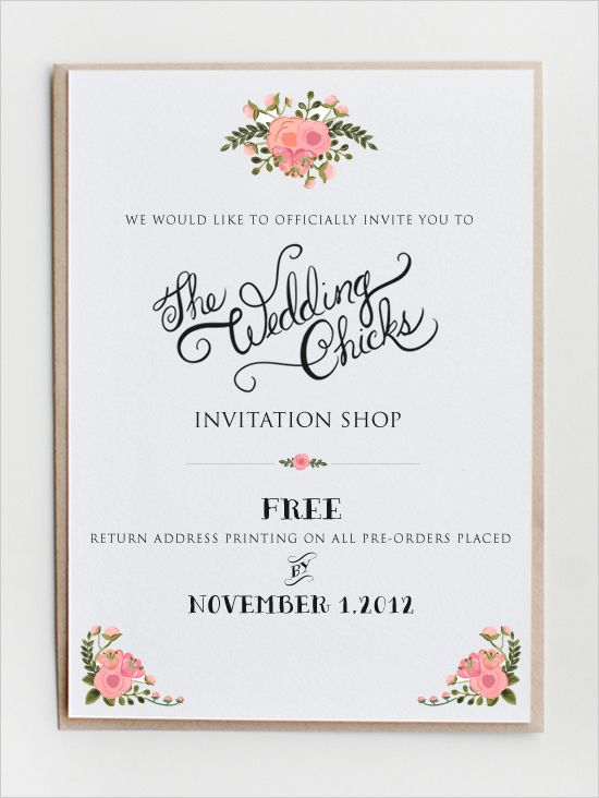 Best 25+ Free printable wedding invitations ideas on Pinterest - invitation template
