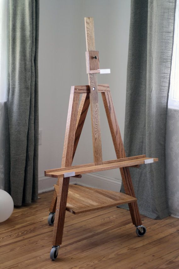 TV stand easel (Clear finish) | Easels, Etsy and TVs