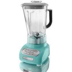 kitchen aid blender in teal