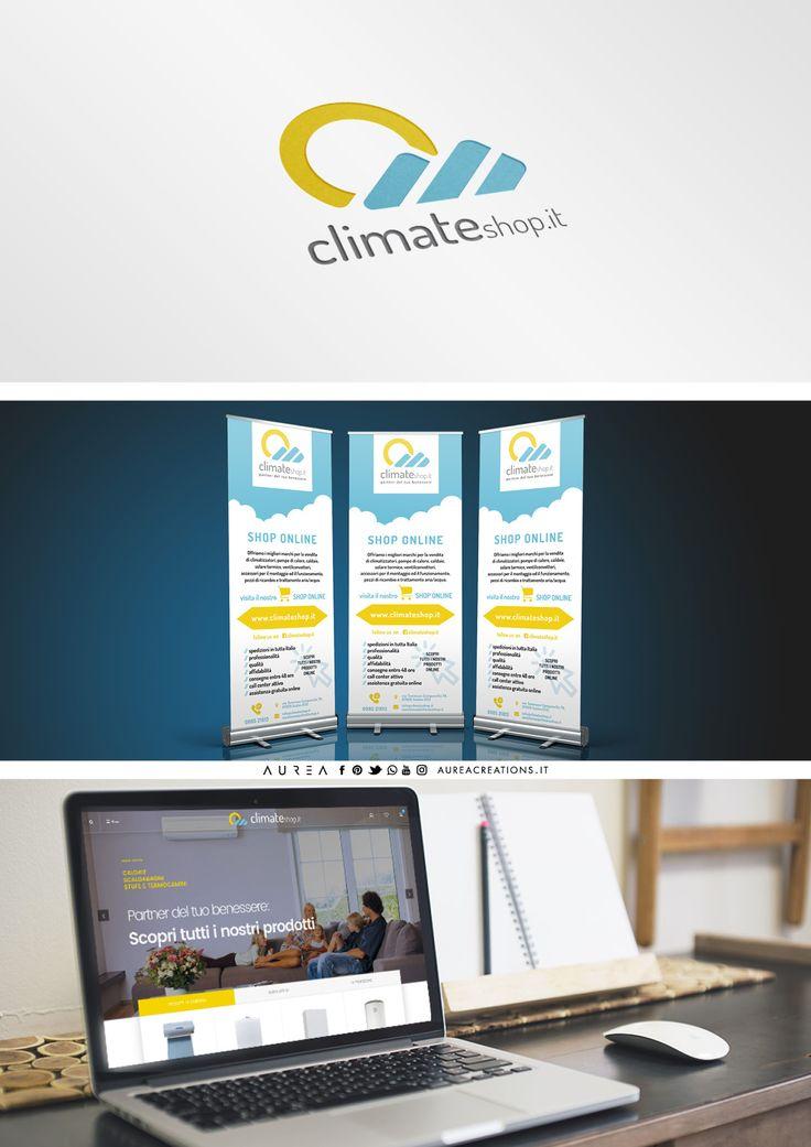 Climateshop.it - Logo - Adv - Sito Web - Social - Office