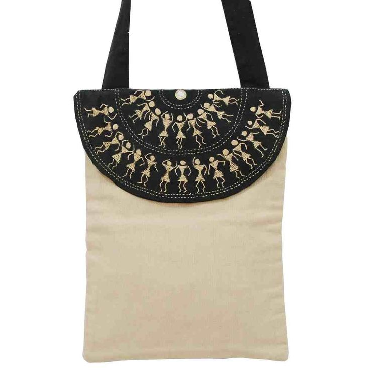 Warli Cotton Bag-1