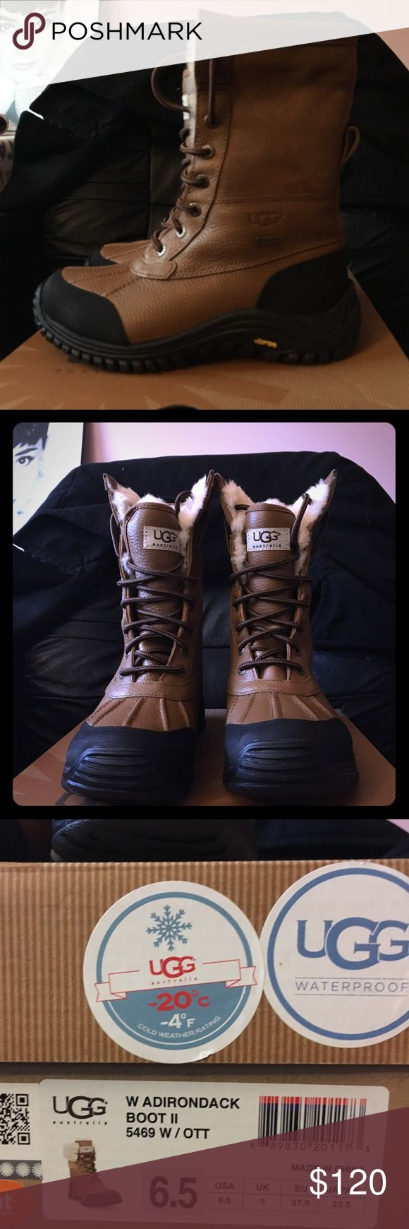 UGG Adirondack Boot II size 6.5 Waterproof boot, size 6.5, color code OTT, brand new, never been worn, still have the original box. UGG Shoes Winter & Rain Boots
