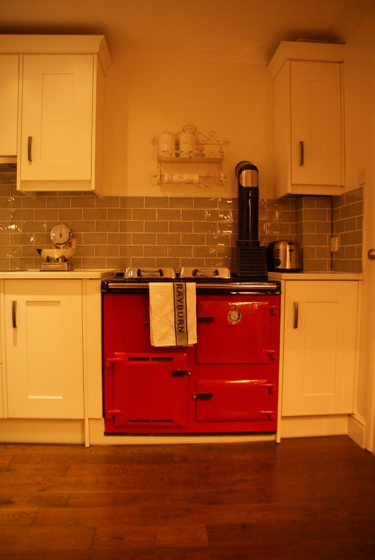 original Rayburn oil burner and oven