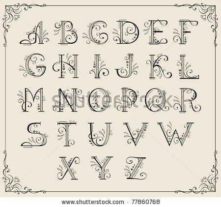 fancy letter fonts 1000 ideas about fancy fonts alphabet on 52186