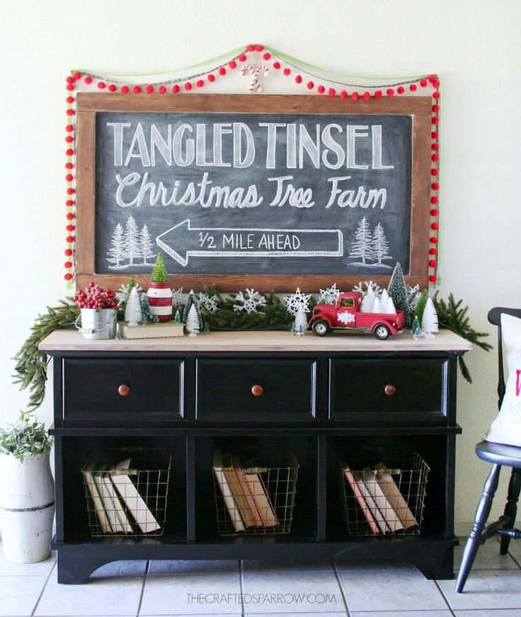 Creating Vintage Inspired Christmas Decor is easy to do with a few simple vintage inspired items and classic colors.
