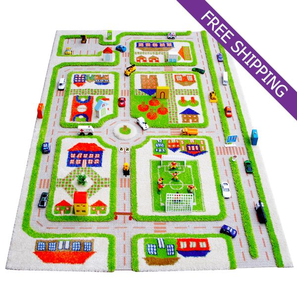 Area Rugs For Sale IVI Kids Play Rug Traffic Green