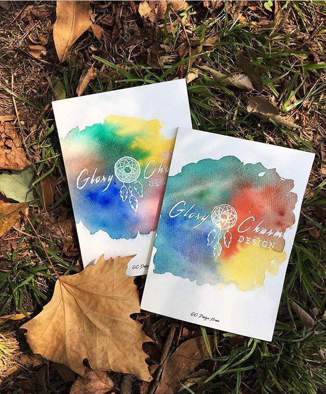 Glory&Charm😍✌️️ custom design, illustration, watercolor painting