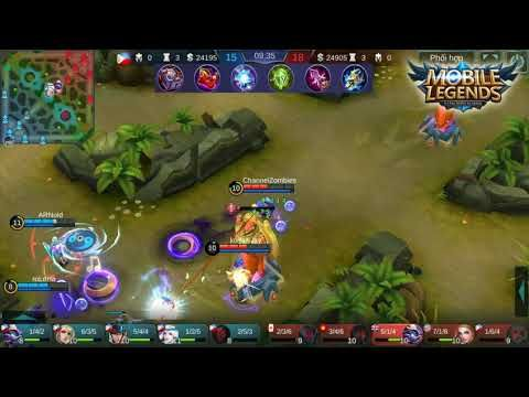 Cyclops Build Best Rank Global Mobile Legends | Hit And Run No.1 Poke