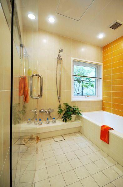 japanese bath シンプル バスルーム, 日本のインテリアデザイン, 日本のお風呂