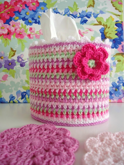 9 best images about Crochet Tissue Box Covers on Pinterest ...