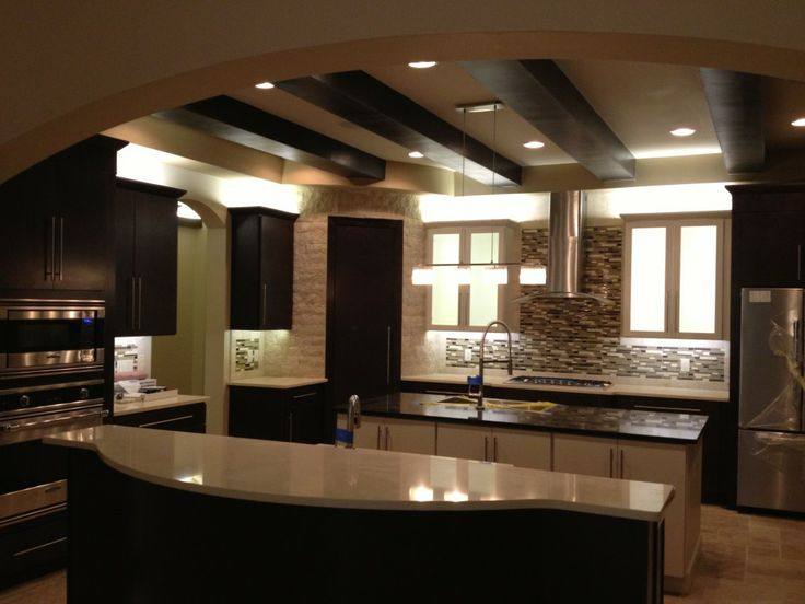 led lighting in home. indirect lighting for homes led light kitchen in this modmediterranean home designed and led