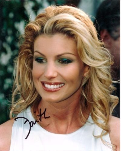 Faith Hill Country Pop Singer Actress Autographed Signed 8x10 Photo w/COA