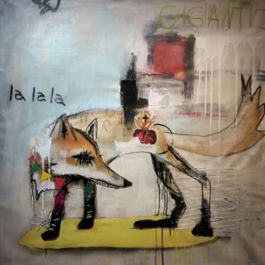"Saatchi Art Artist Jérôme Rochette; Painting, ""Gigantic"" #art"