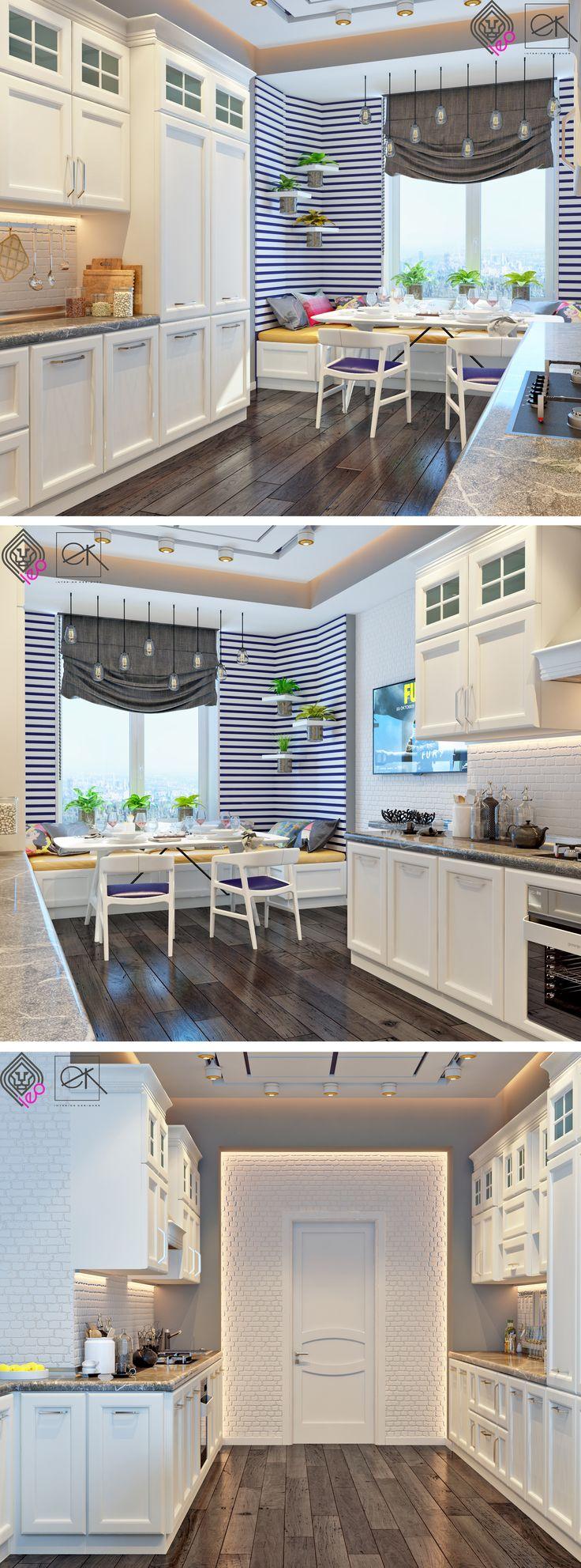 Интерьер кухни. - Галерея 3ddd.ru