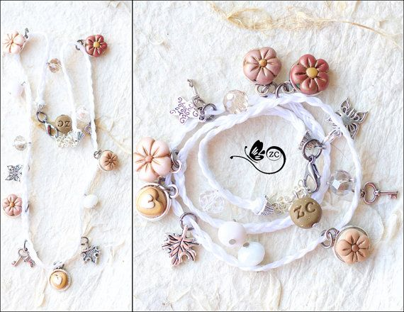 Suze likes, loves, finds and dreams: Giveaway: Flower Necklace/Bracelet