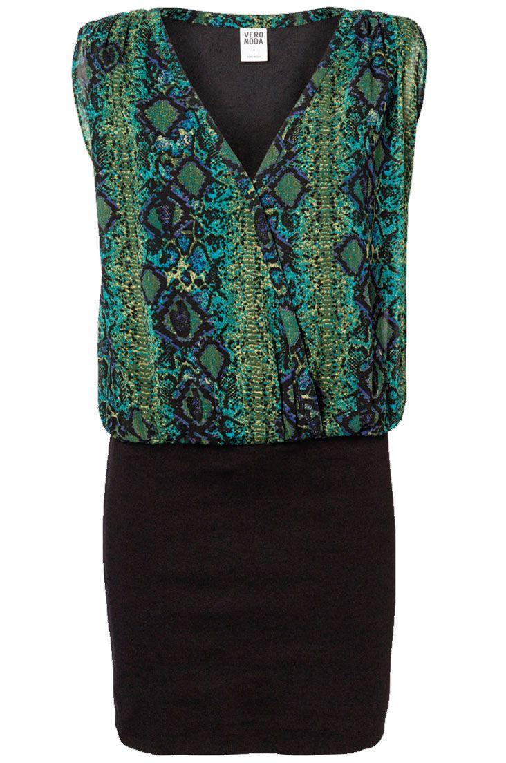 Snake Print Dress - Holiday Countdown #PINtoWIN