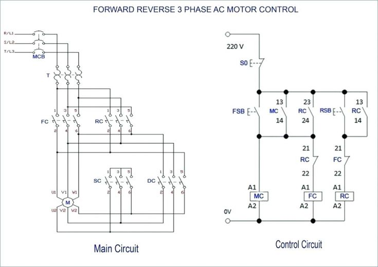 wiring diagram for 220 volt single phase motor