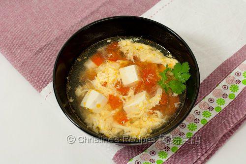 Tomato Tofu Egg Drop Soup (番茄豆腐蛋花湯) - Christine's Recipes: Easy Chinese Recipes   Easy Recipes
