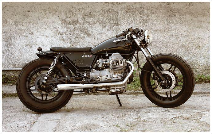 """Venier Customs '87 Moto Guzzi V35 C - """"Diabola"""""""