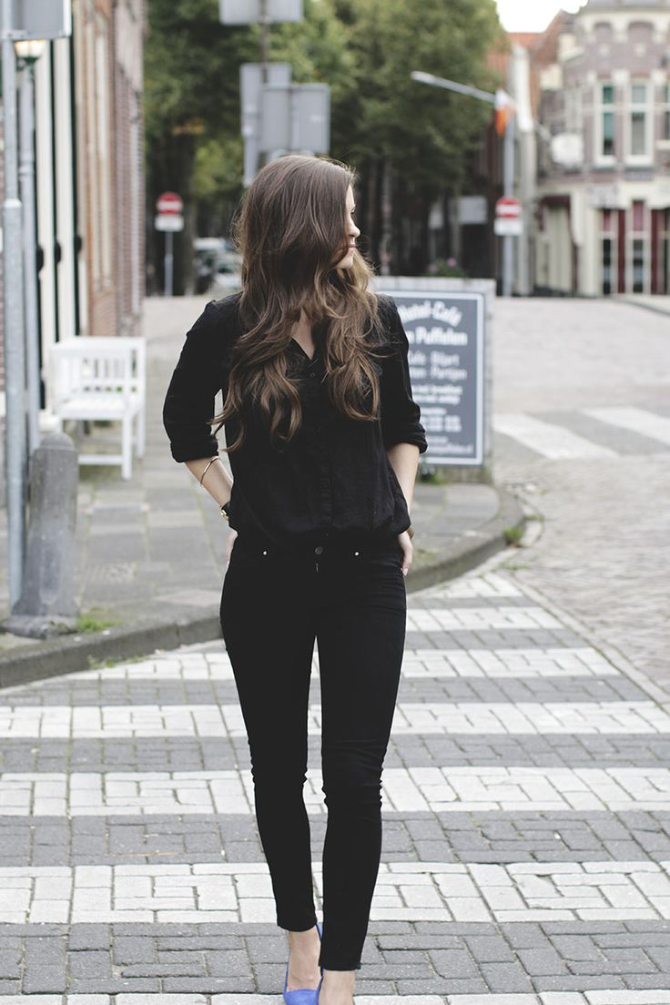 All black outfit  How to wear total black look